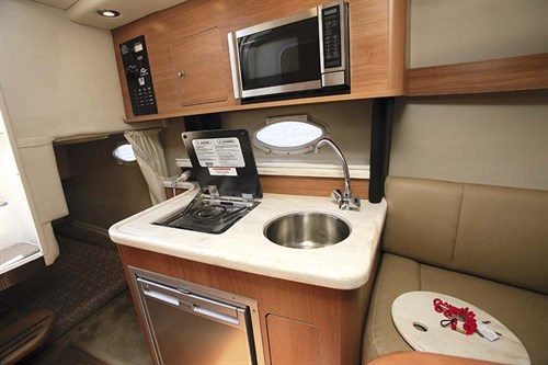 Rinker Express Cruiser galley