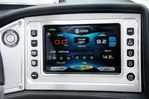 Dash on MasterCraft X46