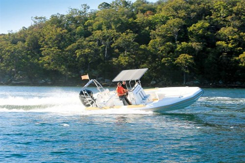 Ballistic 7.8 rigid inflatable boat