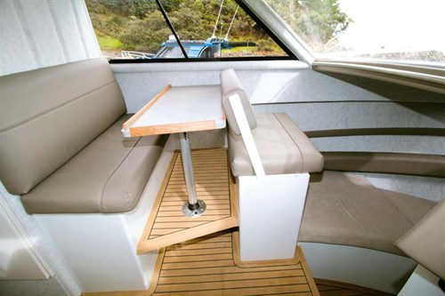 Image 8.75m Fishmaster dinette and saloon