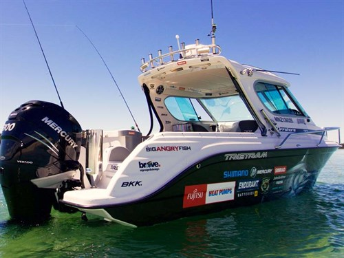 Big angry fish partner with tristram marine for Large fishing boats