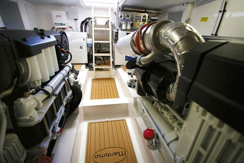 ENGINE ROOM IN MARITIMO S58